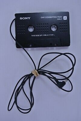 Sony Car Connecting Pack Cassette Tape Adapter CPA-7