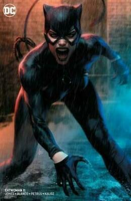 CATWOMAN #13 COVER B ARTGERM VARIANT CARDSTOCK COVER PREORDER HOT DC COMIC 2019