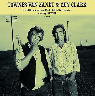 Townes Van Zandt & Guy Clark - Live at GAMH - NEW SEALED  import 180g 2 LP set!