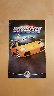 Need for Speed Hot Pursuit 2 manual - PlayStation PS2z