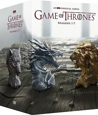Game of Thrones: Complete Series Seasons 1 to 7 DVD Deluxe Box Set Canada Seller