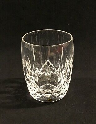 """Waterford Crystal Lismore 7 Ounce Rounded 4.5"""" Tumbler Signed"""