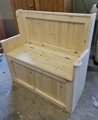 Brand New Handmade Solid Pine 3Ft Monks Benches Delivery Available Paint Options
