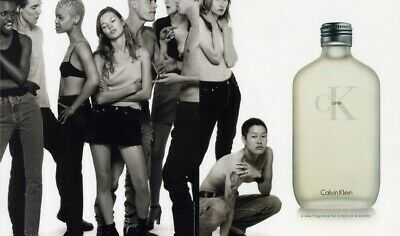 Calvin Parfum Klein Christy Affiche 1998 Contradiction Turlington y7gbf6vY