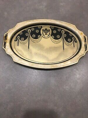 Art Deco Celluloid DuPont Pyralin Sheraton Pearlized Vanity Tray