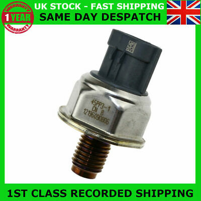 New Fuel Rail High Pressure Sensor Fit Nissan Navara D40 Pathfinder R51 2.5 Dci