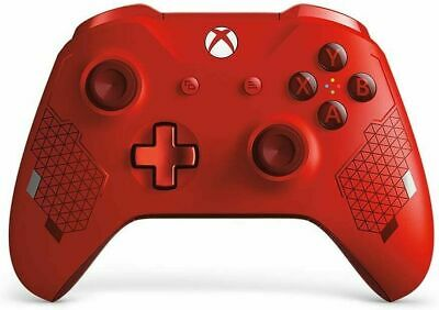 New Microsoft Xbox One Wireless Controller - Sport Red Special Edition
