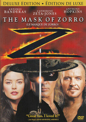 The Mask Of Zorro (Deluxe Edition) New Dvd