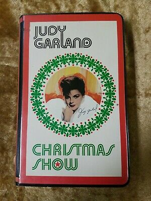 Judy Garland Christmas Show Vhs Sealed Nos 1963 64 Cbs Tv Mel Torme