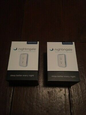 2x Cambridge Nightingale Smart Home Sleep System White
