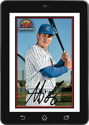 Topps BUNT Anthony Rizzo 30TH ANNIVERSARY BOWMAN 2019 [DIGITAL CARD] 250cc