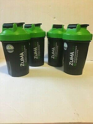 ZUMA Juice 20 oz. Blender Bottle 1 Bottle, Lot of 2 Or 4 Bottles BRAND NEW black