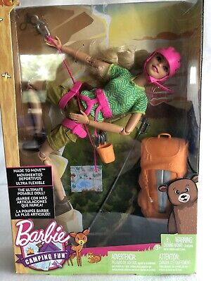 Barbie Made to Move The Ultimate Posable Rock Climber Doll