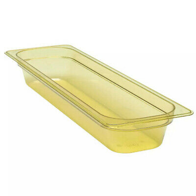 Cambro 22LPHP150 H-Pan Amber High Heat Half Size Food Pan (6 per case)
