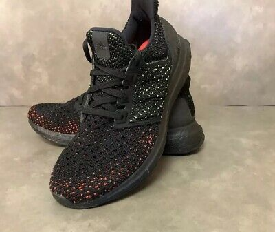 992e2c3690a6d   Adidas UltraBOOST Clima Core Black Solar Red Ultra Boost AQ0482 Men s 6  US