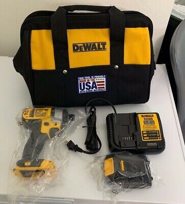 *BRAND NEW* DEWALT 20V MAX Li-Ion 1/4 in. Impact Driver Kit DCF885 Dewalt tools