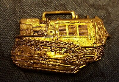 Vintage Watch Fob - Caterpillar Tractor Co. - Peoria, Illinois