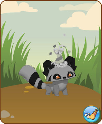 Animal Jam - Silver Party Hat