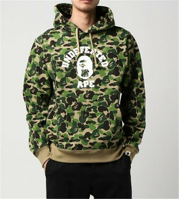 9a195b23 A Bathing Ape BAPE Camouflage Round Collar Coat Sweats Pullover Jacket  Hoodies