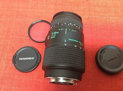 Quantaray Tech-10 MX AF 70-300mm 1:4-5.6 Macro Zoom Lens for Minolta Tested