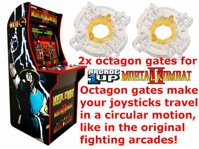 Arcade1up Mortal Kombat 2 Golden Tee Dig Dug Pac Man Circle Octagon Gate Arcade