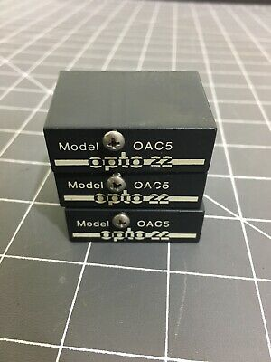 Opto 22 OAC5 G1 Family Ac Digital Output Lot of 3 Deadstock New