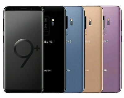 Samsung Galaxy S9+ PLUS SM-G965U 64GB FACTORY Unlocked DEVICE 4G MRF~VERY GOOD~