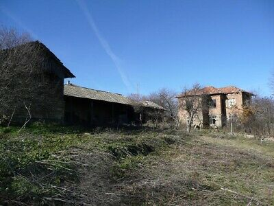 Bulgarian Countryside House/land/barn Scenic Hillside Location Next To Forrest