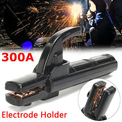 300A electrode holder stick welder mini copper welding rod stinger clamp tool SW