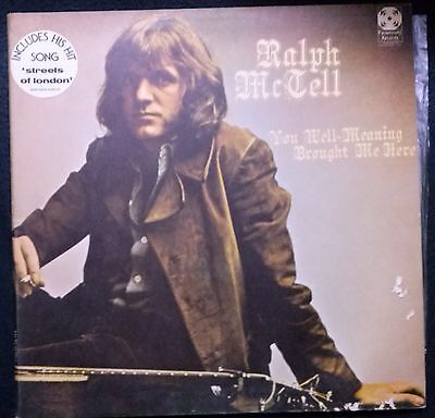 RALPH MCTELL YOU, Well-Meaning, Brought Me Here SCARCE ORIG UK 1971