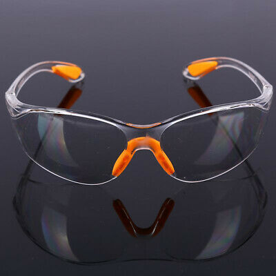 Factory Lab Outdoor Work Safety Goggles Clear Anti-impact Eye Protective Glasses