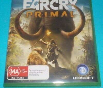Xbox One - Far Cry Primal, Great Condition with booklet