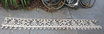 Victorian Cast Iron Lacework - Star and Wreath Design - 120 yrs - Small lot