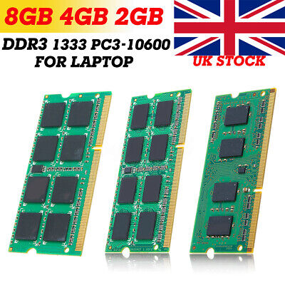 NEW Memory Ram Laptop Notebook DDR3 PC3 10600S 10600 1333 MHz 204 pin SODIMM Lot