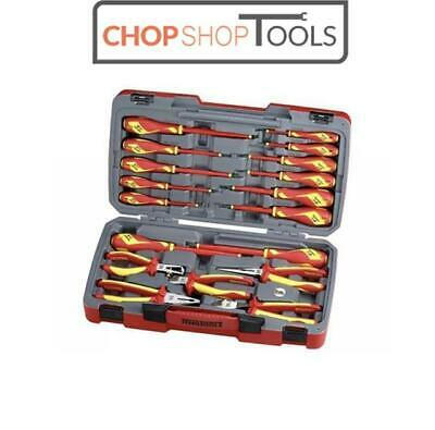 Teng Tools Insulated Electricians Screwdriver & Pliers Set 18 Piece 1000v TV18N