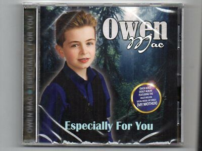 OWEN MAC - ESPECIALLY FOR YOU - CD - New  - Free Post UK