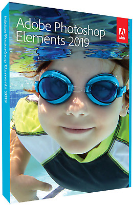 Adobe Photoshop Elements 2019 - Box-Pack Vollversion, 1 Lizenz Mac, Windows Bild