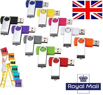 UK - Lot, ( 20 PACK ) real usb flash drive memory stick thumb pen jump drive