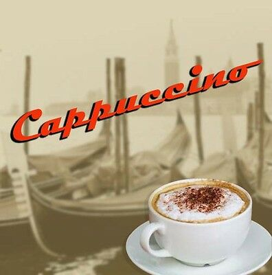 incup Luxury Cappuccino 73mm for in cup Vending Machines Darenth Klix 240 drinks