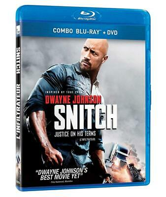 Snitch / L'Infiltrateur (Bilingual) [Blu-ray + DVD]