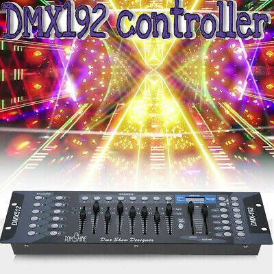 192 Channels DMX512 Light Controller Show Designer Console Stage For Stage Light