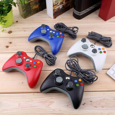 USB Wired Joypad Gamepad Gaming Controller for Microsoft Xbox Slim 360 Win7 Safe