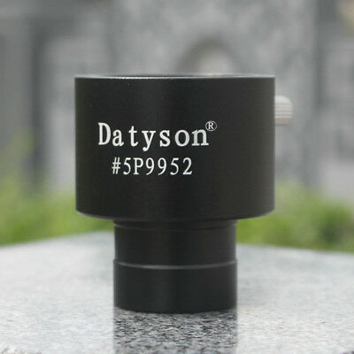 "Telescope Eyepiece Adapter 0.965""inches To 1.25"" Inches Alloy Eyecup RearFocus"