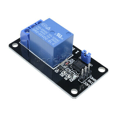 5PCS 5V One 1 Channel Isolated Relay Module With Optocoupler For Arduino