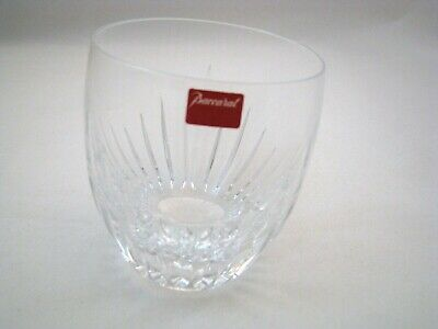 One BACCARAT France MASSENA Crystal Wiskey Tumbler 10 oz ( 8 available )