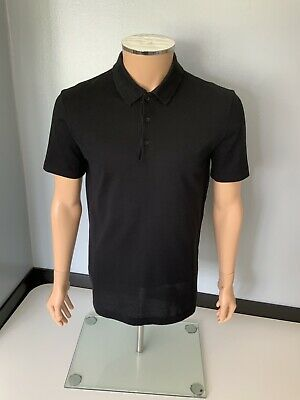 Balenciaga Black Polo Short Sleeve Collared Top Size M Meduim  Vgc T Shirt
