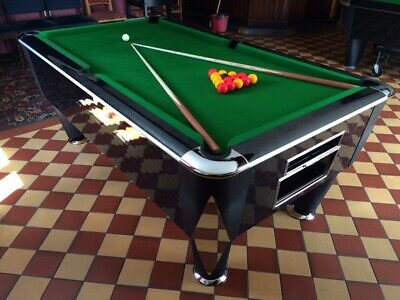 7FT SAM Atlantic English Pool Table By SAM Leisure - Various Finishes - Coin OP