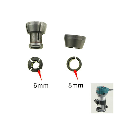 SP10174814 Collet Chuck 6mm & 8mm Fits Katsu, Makita Trimmer Spare