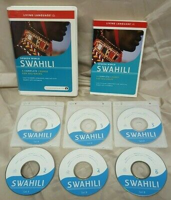 Living Language Spoken Word Swahili Beginners Course 2007 Complete