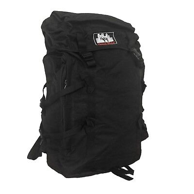 Black Travel Backpack Extra Large Rucksack for Hiking Outdoor Camping Urban Mule
